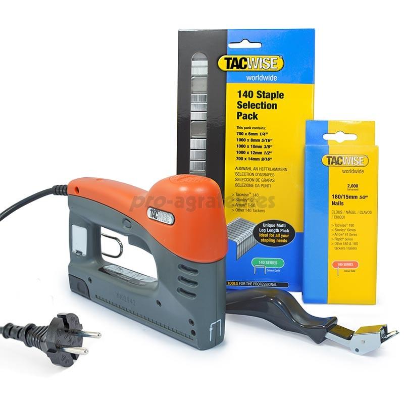 Tacwise 140EL électrique agrafeuse//Pistolet à Clous